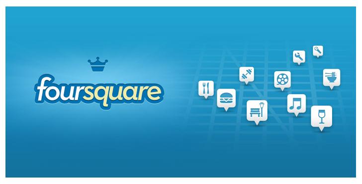 App Foursquare iOS y Android