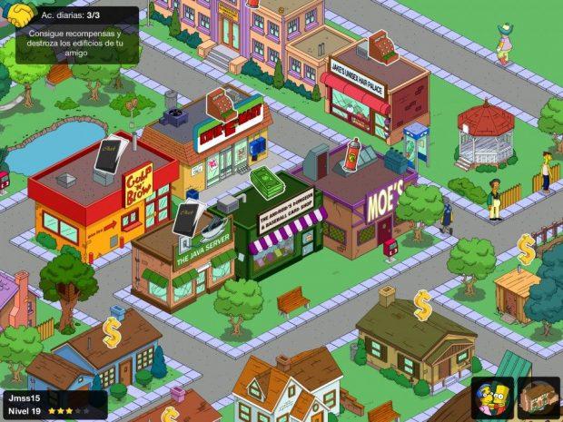 Juego Los Simpsons iOS