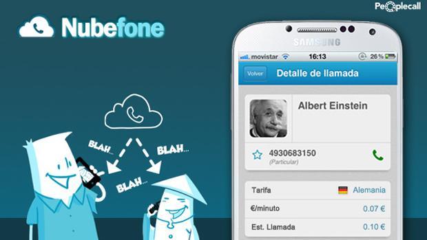 App nubephone