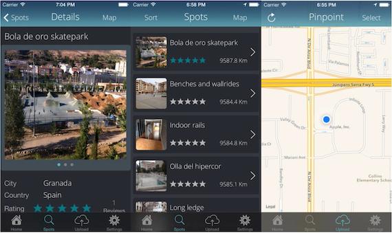 App My Spots para iOS