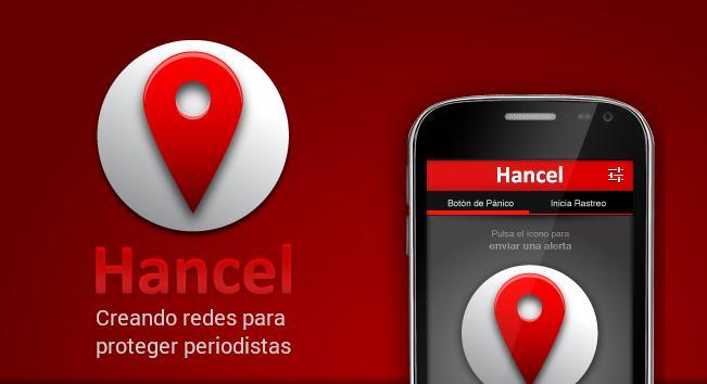 App Hancel periodistas