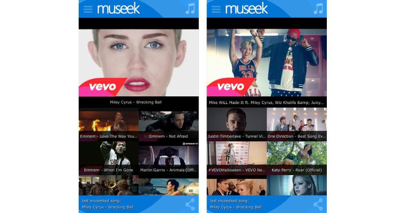 App Museek iOS