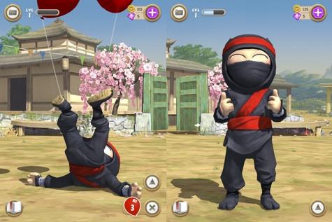 Juego Clumsy Ninja