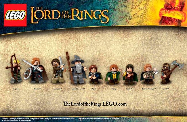 Juego Lego El señor de los anillos