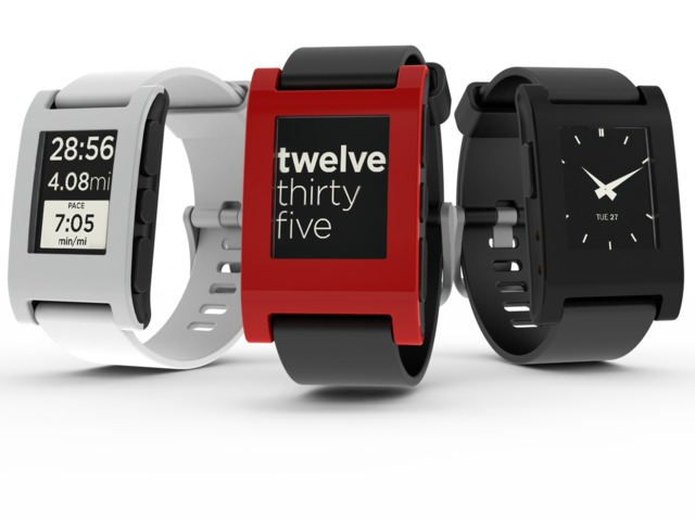 Smartwatch Pebble iOS