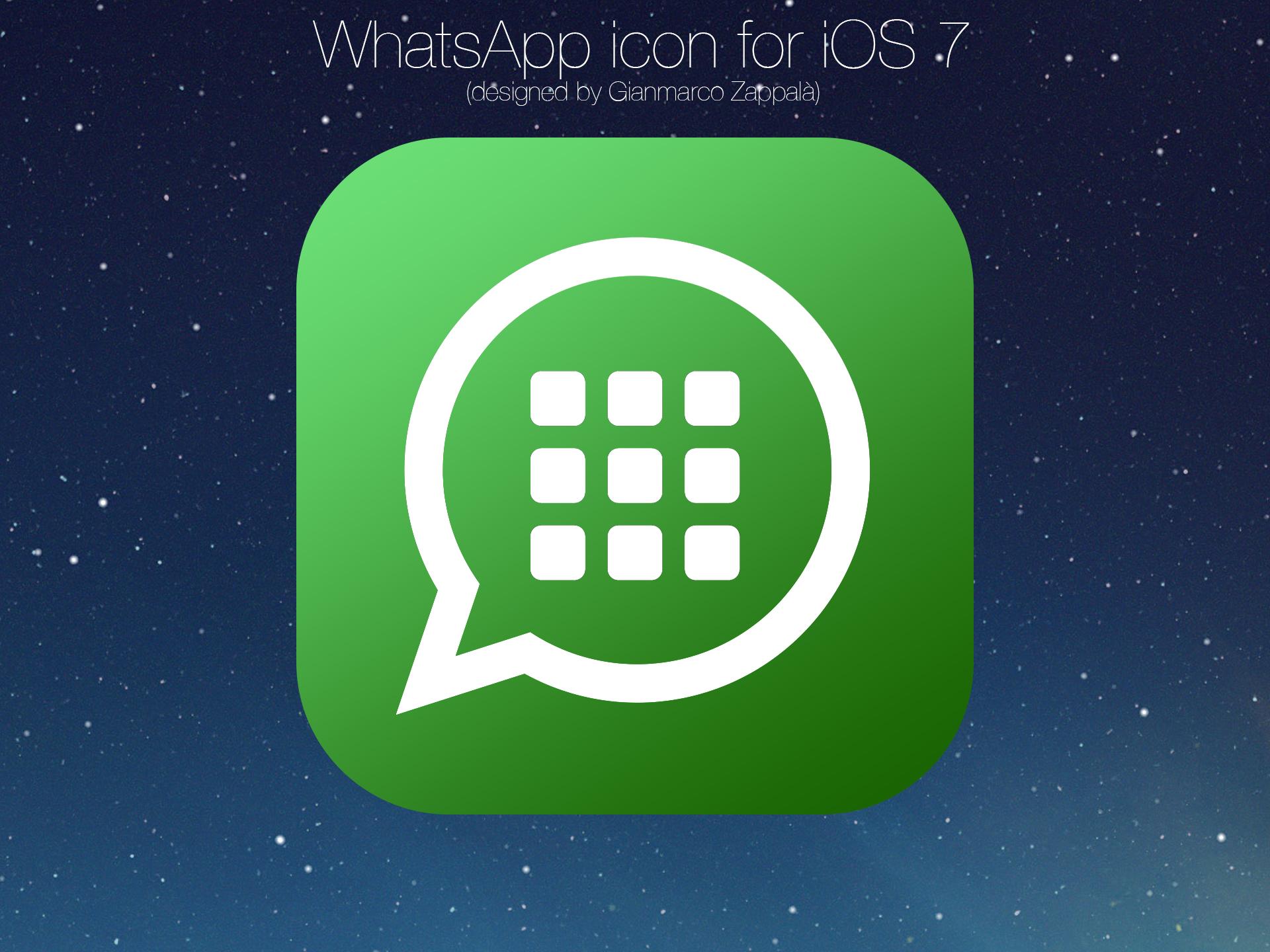 Icono whatsapp iOS7