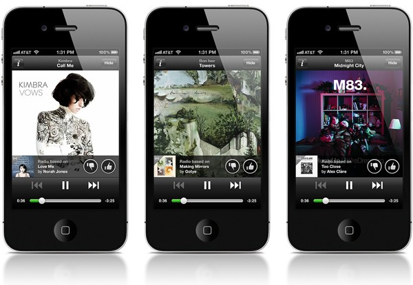 App spotify iOS y Android