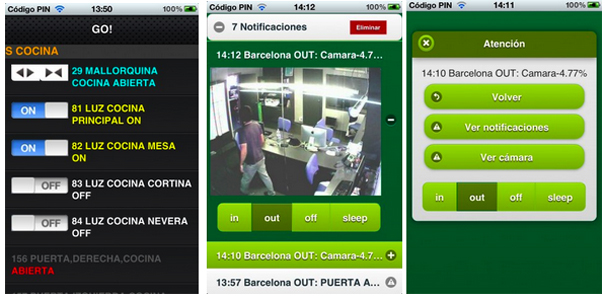 App Tenealive videovigilanciaApp Tenealive videovigilancia