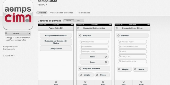 App aempsCIMA