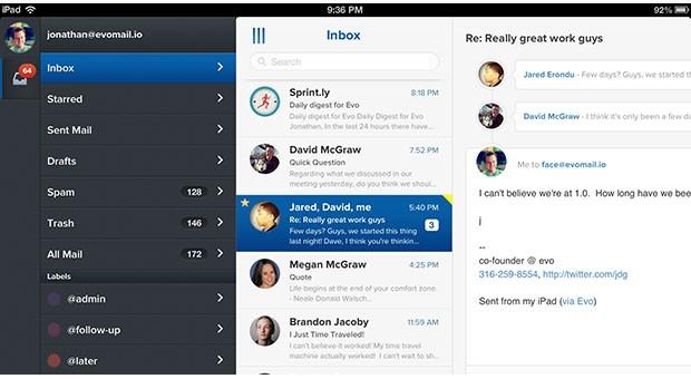App Evomail iOS