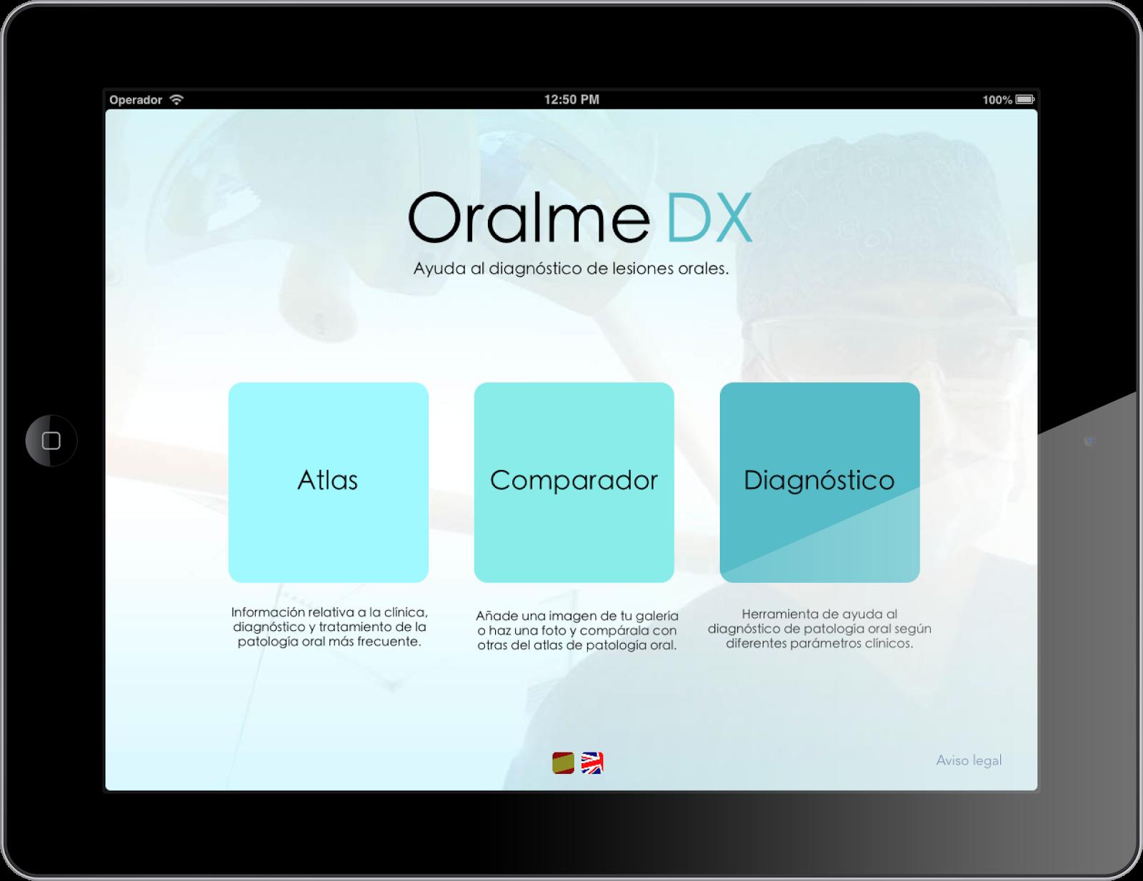 App OralmeDx iOS