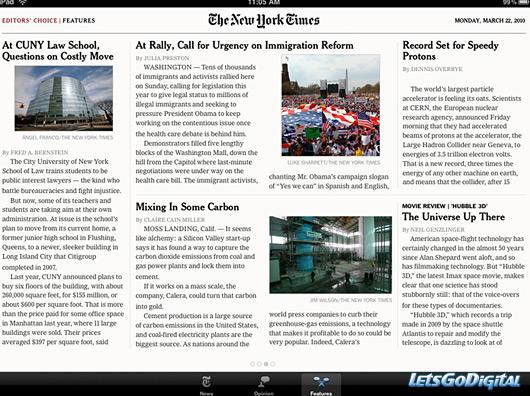 App NY Times