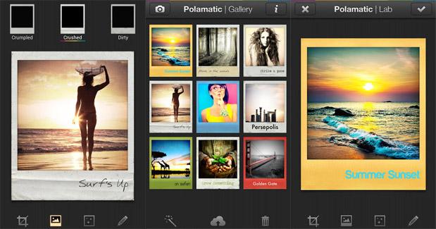 App Polamatic Polaroid
