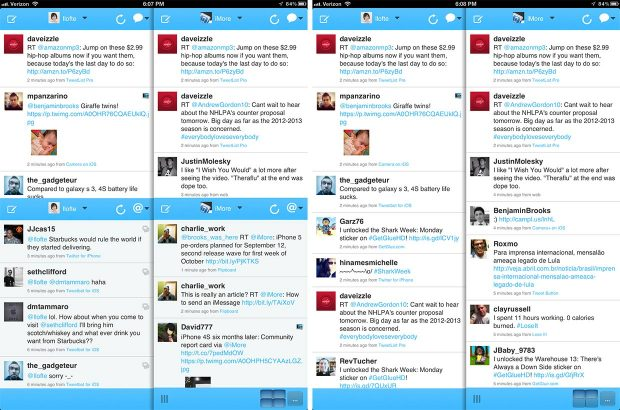 App Twitter ipad