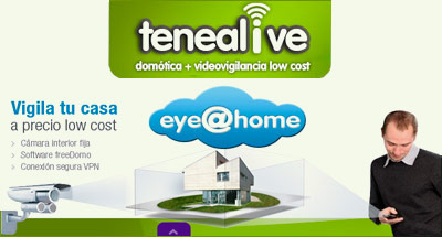 App Tenealive videovigilancia