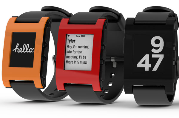 Smartwatch Pebble reloj