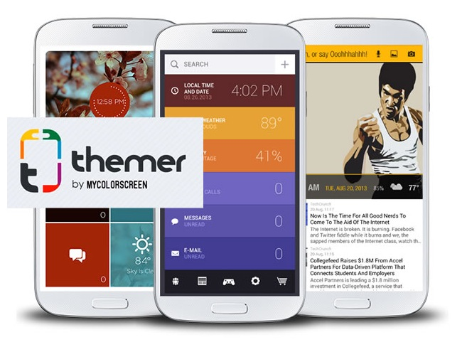 App Themer Android