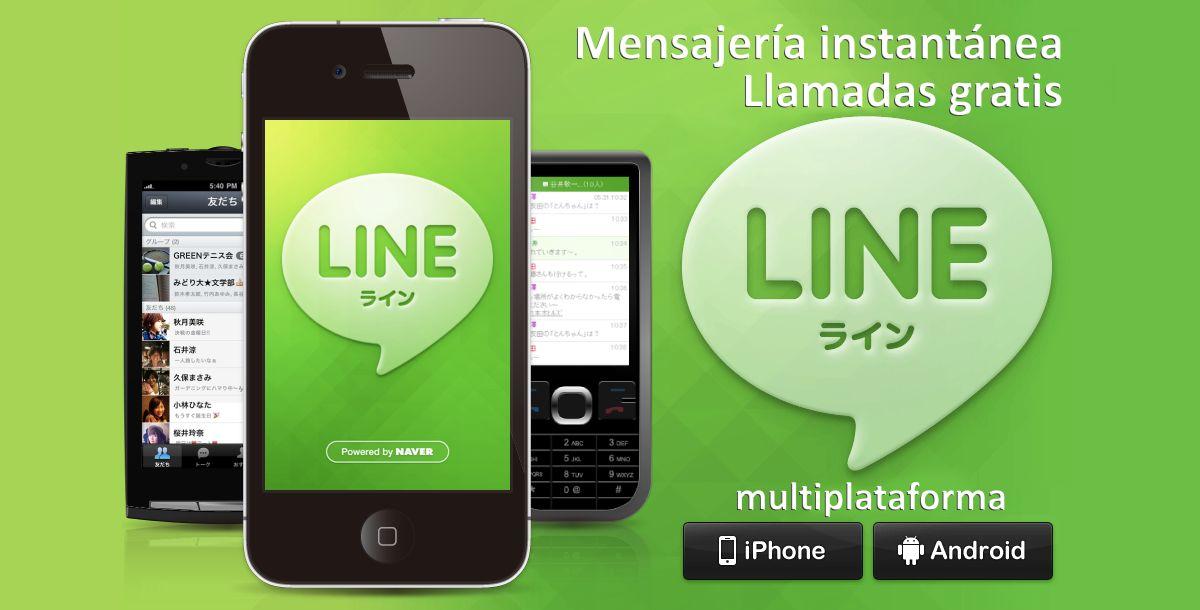 App Line mensajería