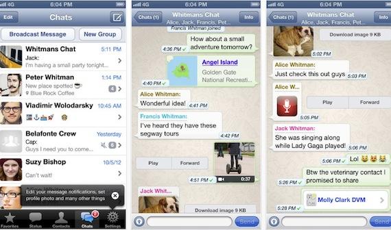 app whatsapp privacidad