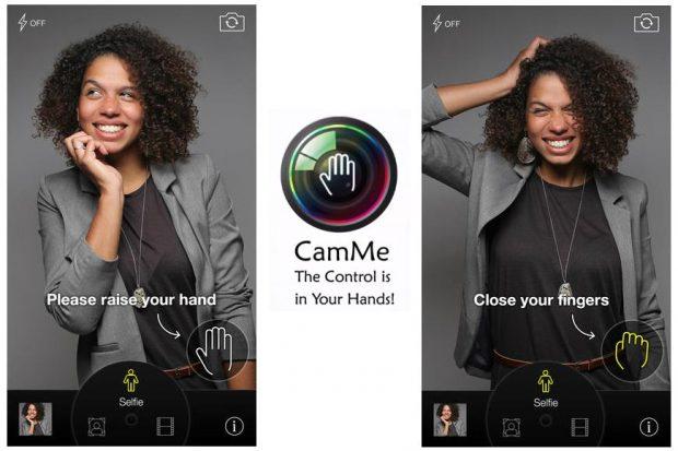 App CamMe iOS