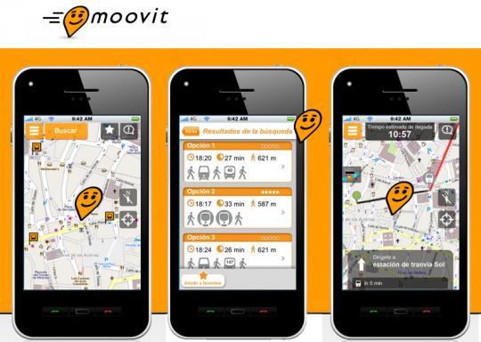 App Moovit transporte