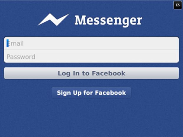 App facebook messenger