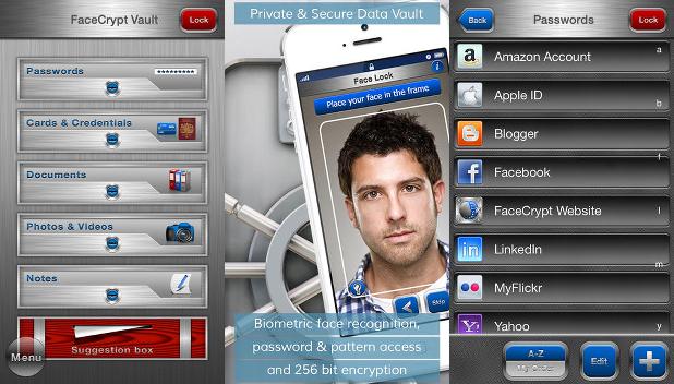 App Facecrypt iOS