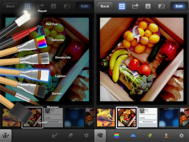 App iPhoto iOS