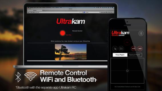 App Ultrakam iOS