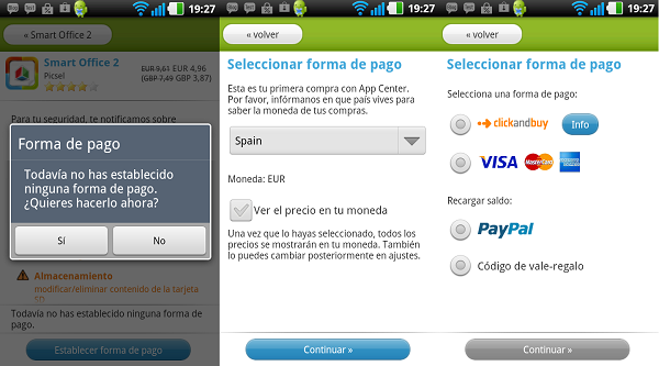 Google Play PayPal