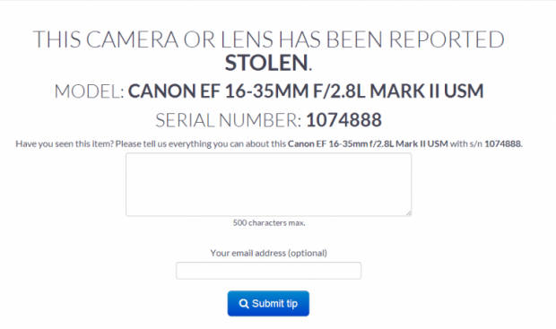 App Lenstag registro