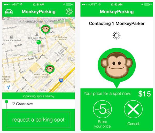 App Monkey parking