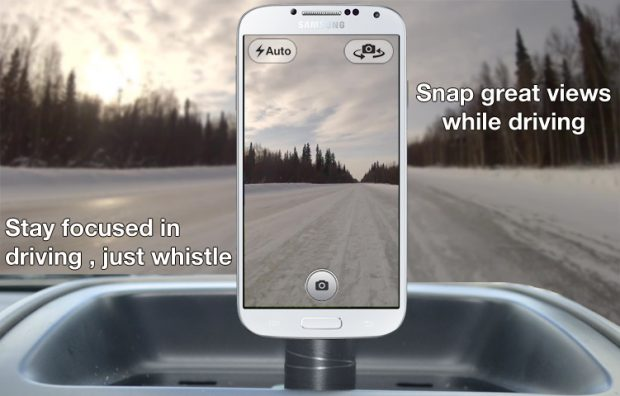 App Whistle Camera