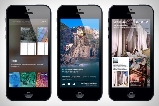 Paper facebook iOS