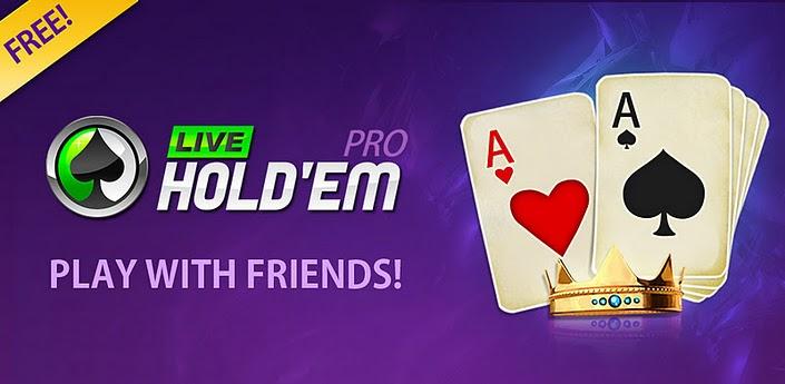 App Live Holdem Poker Pro
