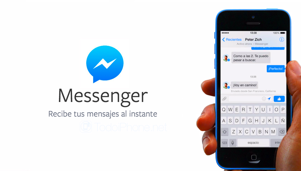 Facebook Messenger pagos