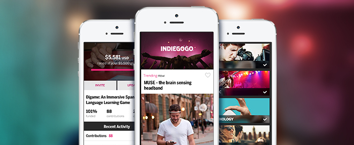 App Indiegogo iOS