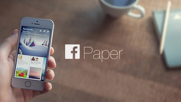 App Paper Facebook