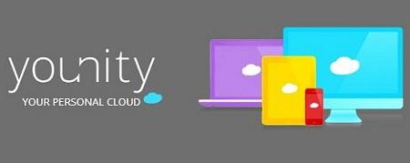 Logo app younity