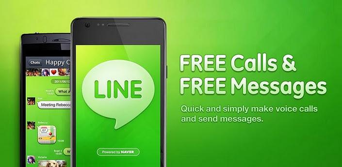 App Line nuevas funciones