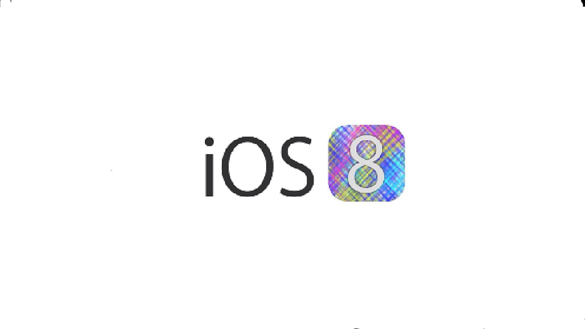 iOS8 comming soon