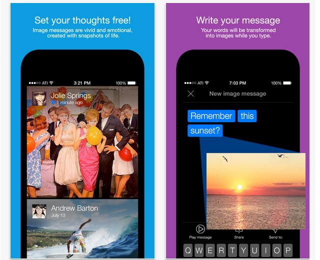App Imagemess para iOS