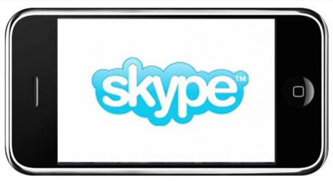 App Skype para smartphones