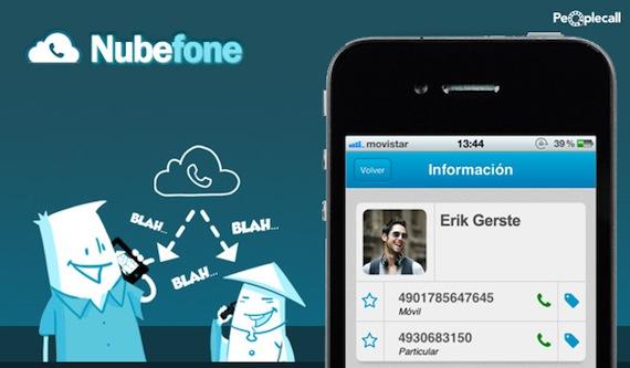 App Nubefone llamadas