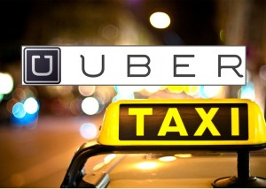 App Uber-taxi