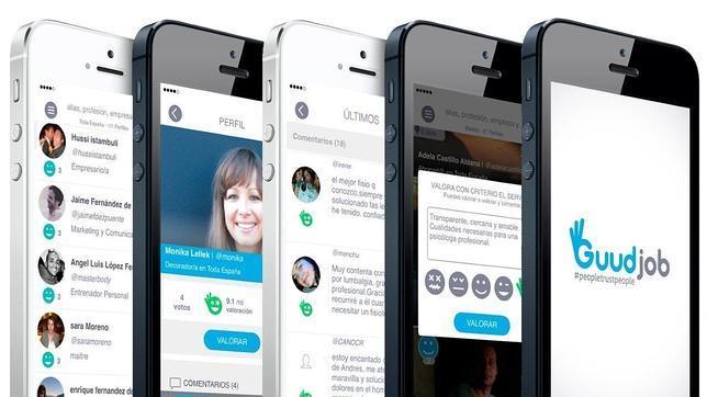 App Guudjob búsqueda empleo y empleados