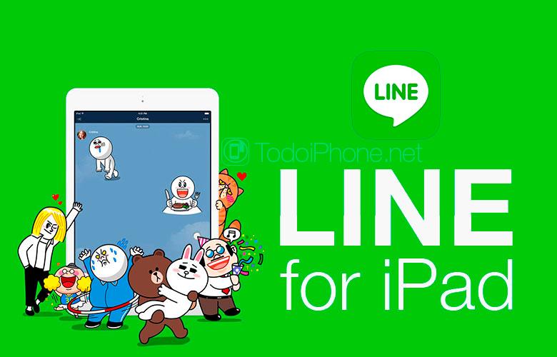 App Line for iPad