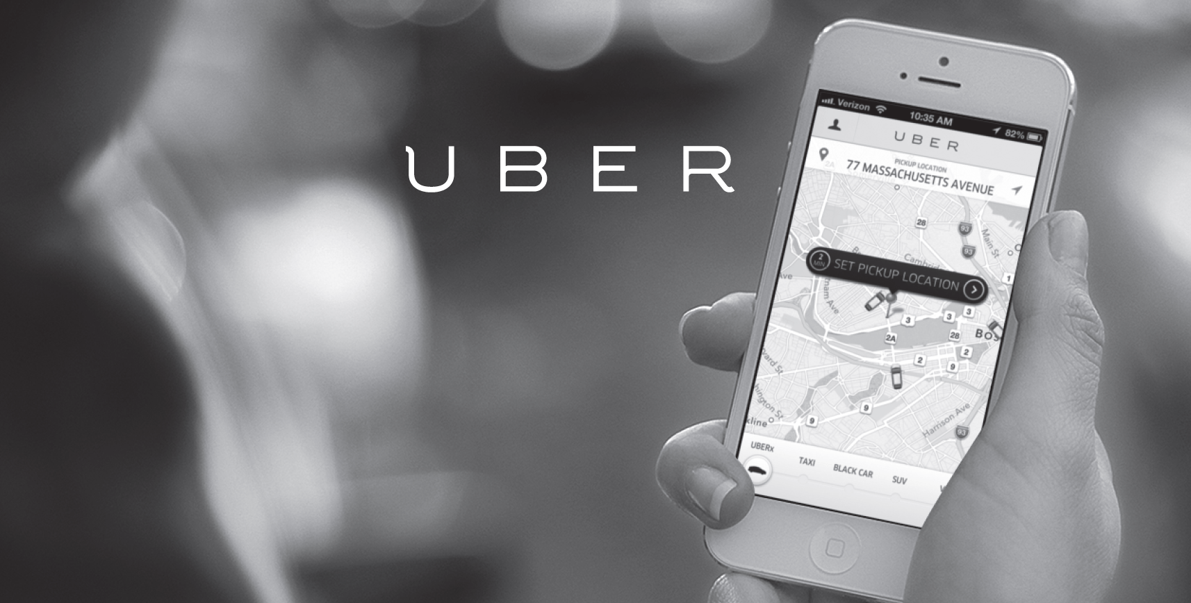 App Uber taxi
