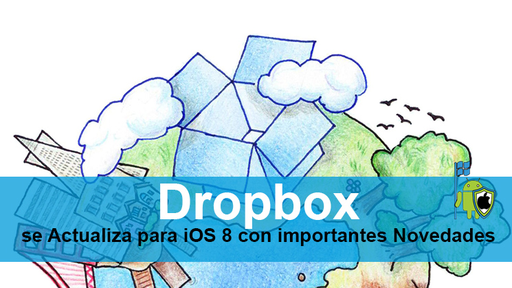 App Dropbox iOS8