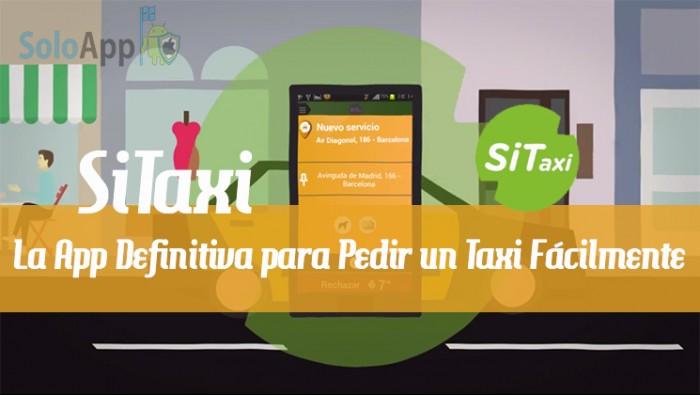 App Sitaxi en Barcelona